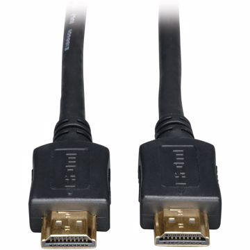 Tripp Lite High Speed HDMI Cable Ultra HD 4K x 2K Digital Video with Audio (MM) Black 50ft