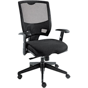 Alera Epoch Series Mesh Mid-Back SwivelTilt Multifunctional Chair