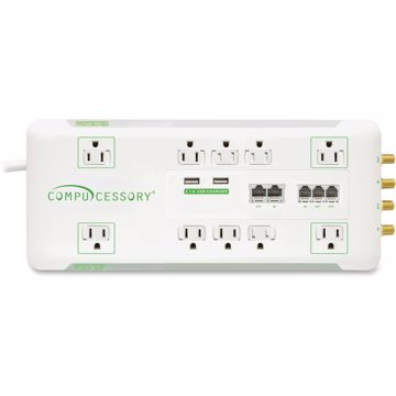 Compucessory 10-Outlet Surge SuppressorProtector
