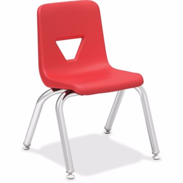 Lorell 12 Seat-height Stacking Student Chair