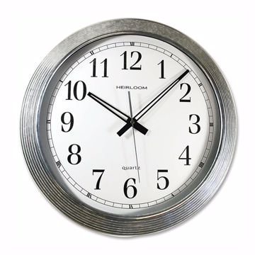 Artistic 16 Galvanized Metal Round Wall Clock