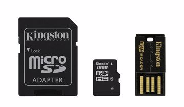 Kingston Technology 16GB Mobility Kit memory card