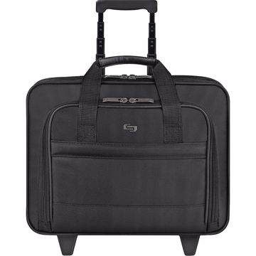 Solo Classic Carrying Case (Roller) for 15.6 Notebook, Accessories - Black