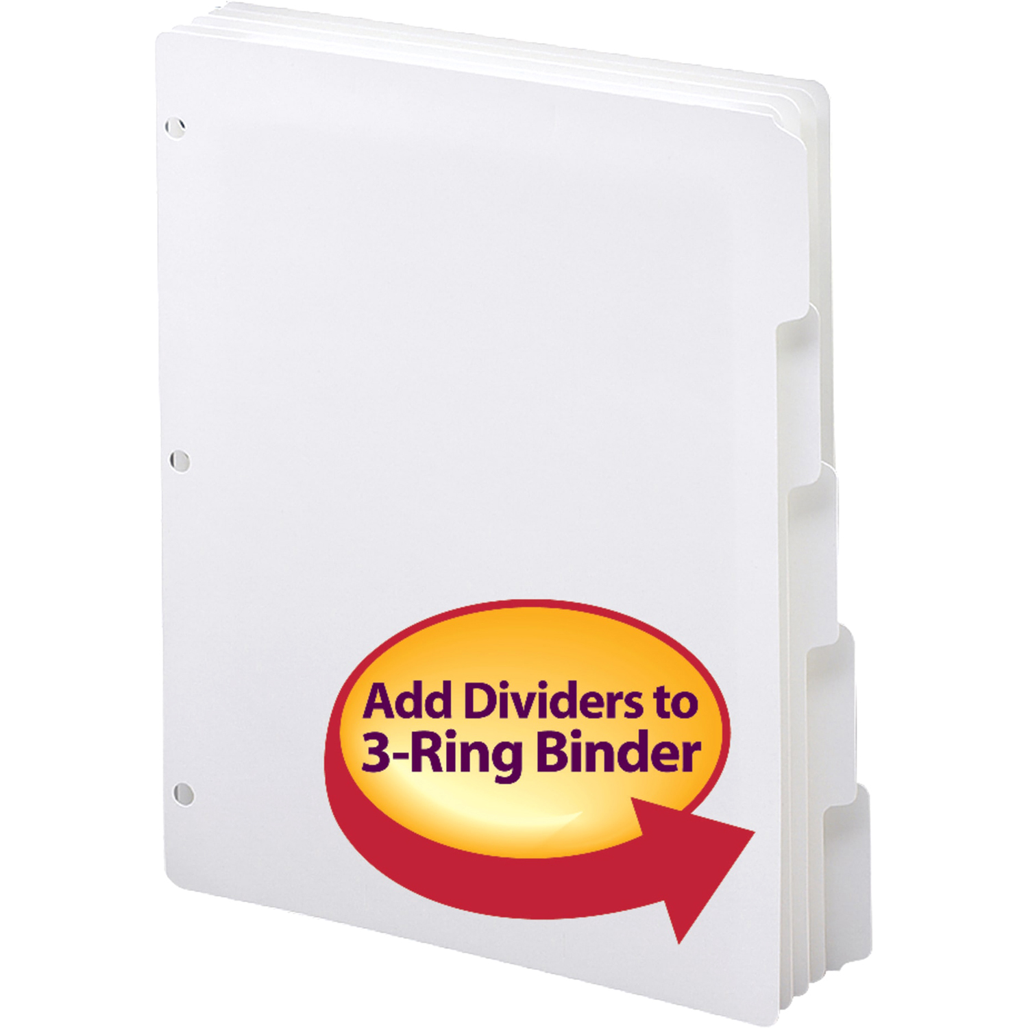 Smead Three-Ring Binder Index Dividers