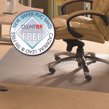 Cleartex Advantagemat Low Pile PVC Chair Mat