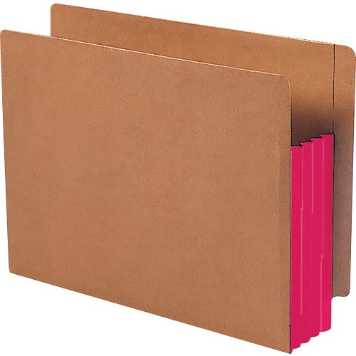 Smead Red Rope End-Tab File Pockets