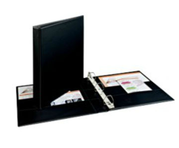 Avery 07301 Black ring binder