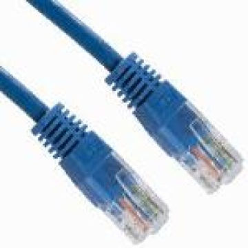 4XEM 10ft Cat5e UTP 3.05m Cat5e UUTP (UTP) Blue networking cable