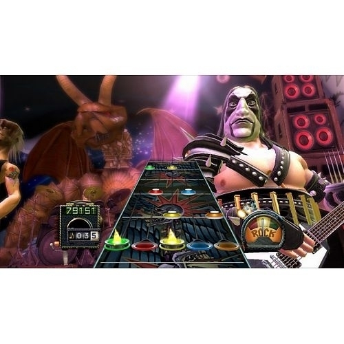 Activision Guitar Hero: Aerosmith (Game Only), Xbox 360 Xbox 360 English  video game