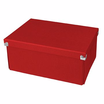 Ordinaire Samsill PNS04LSRD2 Storage Box Rectangular Red Storage Box/basket