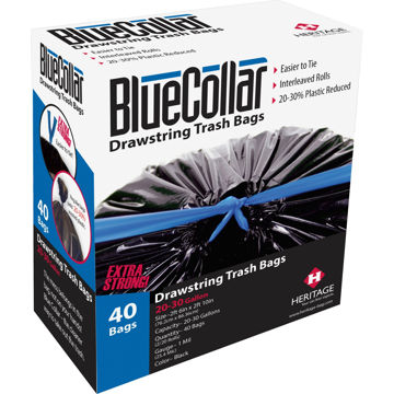 BlueCollar Super Tough 30 Gal Trash Bags