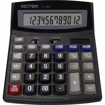 Victor 1190 Desktop Display Calculator
