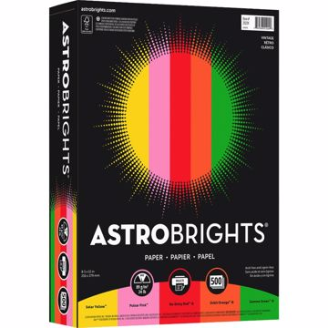 Astrobrights Color Paper - Vintage 5-Color Assortment
