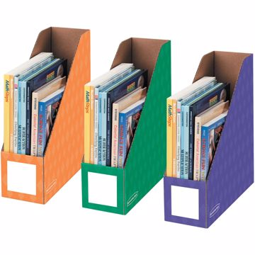 Bankers Box 4 Magazine File Holders - Secondary, 3pk