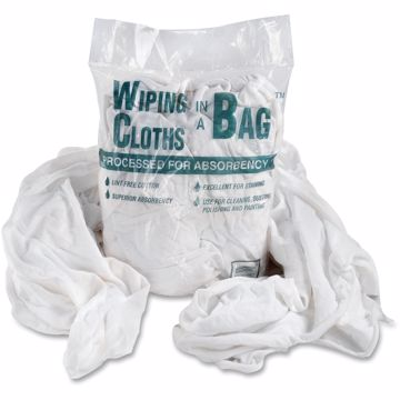 Bag A Rags Office Snax Cotton Wiping Cloths