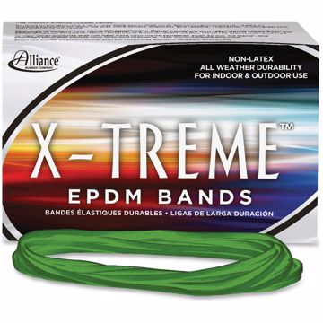 Alliance Rubber 02005 X-treme Rubber Bands - Non-Latex - 7 x 18 - Archival Quality