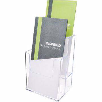 deflecto 2-tier Desktop Literature Holder
