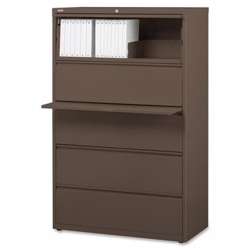Hirsh 42 Lateral File with Posting Shelf