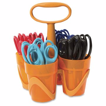 Fiskars 5 Kids Scissors Classpack Caddy