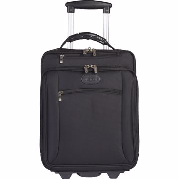 bugatti Carrying Case (Roller) for 17, Notebook - Black