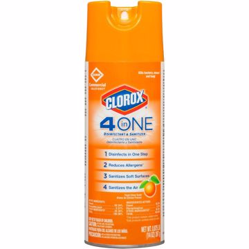 Clorox 4-in-One Disinfectant and Sanitizer