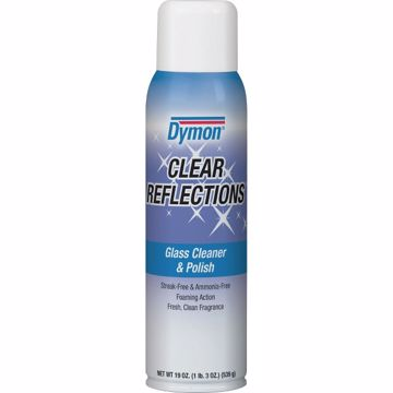 Dymon Clear Reflections Aerosol Glass Cleaner