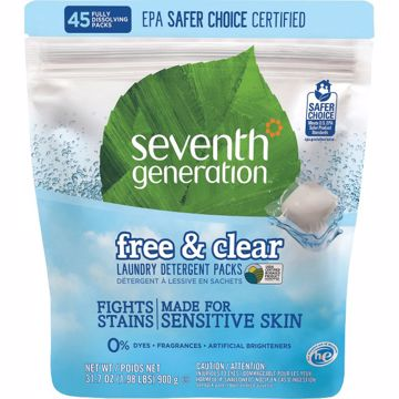 Seventh Generation FreeClear Laundry Detergent Packs