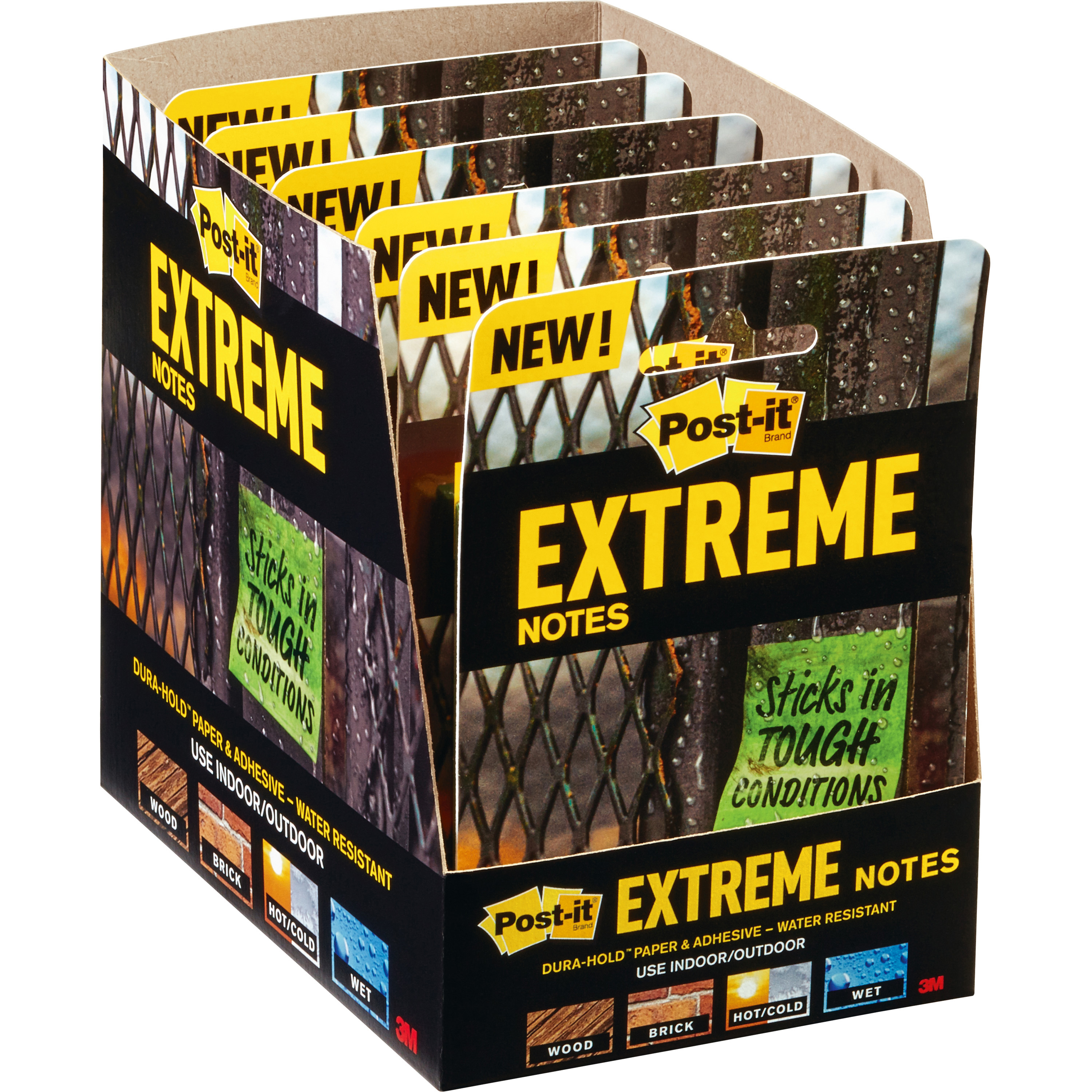 Post-it® Extreme Notes - XTRM333TRYMX