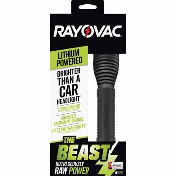 Rayovac The Beast CR123A Lithium Flashlight