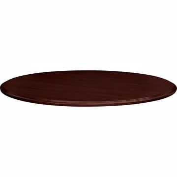 48Round Shaped Laminate Top Traditional Edge