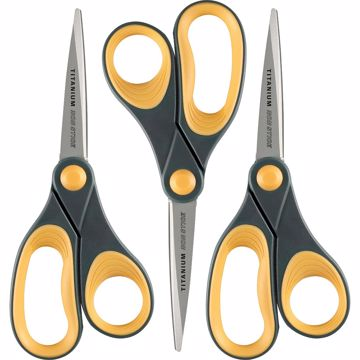 Acme United 8 Titanium Nonstick Straight Scissors