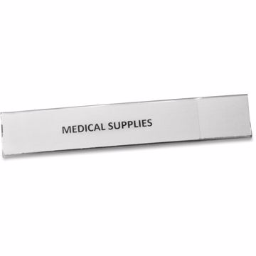 Panter Panco Clear Magnetic Tube 1 Label Holders