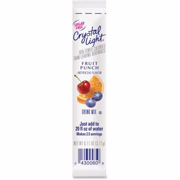 Crystal Light On-The-Go Fruit Punch Mix Sticks