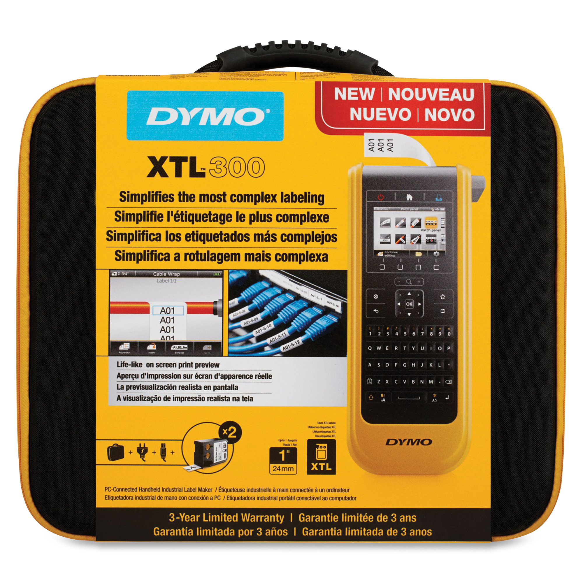 Dymo XTL 300 Label Maker Kit - 1868814