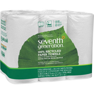 Seventh Generation 100 Pct Recycled Paper Towels