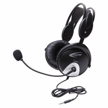 CALIFONE 4100 GAMING HEADSET WITH TO GO PLUG