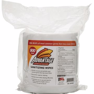 2XL Advantage Sanitizing Wipes