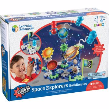 Gears!Gears!Gears! Space Explorers Building Set