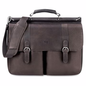 Solo Classic Carrying Case (Briefcase) for 16 Notebook - Espresso
