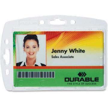 DURABLE 800580128268 Replacement ID Card Holders