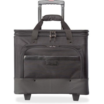 bugatti Business Carrying Case (Roller) for 17 Notebook - Black