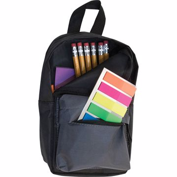 Advantus Carrying Case (Pouch) for Pencil, Paper Clip, Accessories - Black