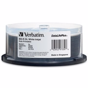 Verbatim 97334 50GB BD-R 25pcs readwrite blu-ray disc (BD)