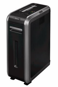 Fellowes 125Ci Cross shredding 70dB Black Paper Shredder