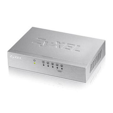 ZyXEL ES 105Av3 Unmanaged Fast Ethernet (10100) Silver
